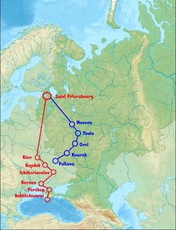 Voyage en Crimée (1787) – Arts et Voyages